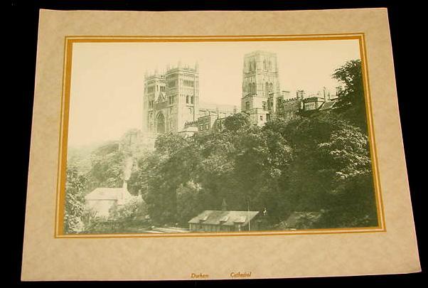 1920s calendar art prints canterbury durham cathedralebay